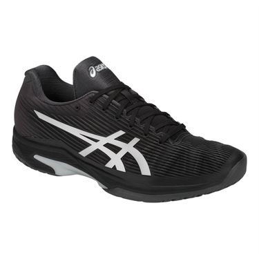 Asics Solution Speed FF Mens Tennis Shoe - Black/Silver