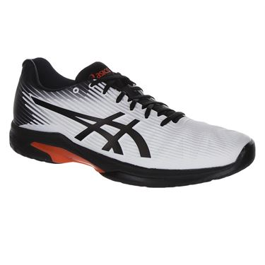 Asics Solution Speed FF Mens Tennis Shoe - White/Black