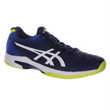 Asics Solution Speed FF Mens Tennis Shoe - Blue Expanse/White