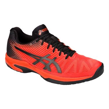 Asics Solution Speed FF Mens Tennis Shoe - Cherry Tomato/Black