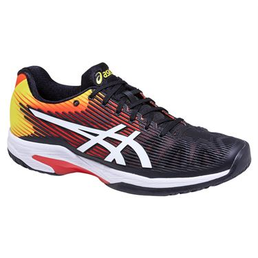 Asics Solution Speed FF Mens Tennis Shoe - KOI/White
