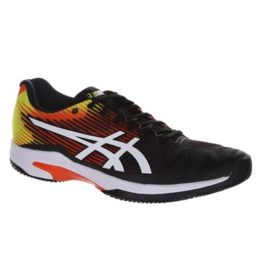 Asics Solution Speed FF Clay Mens Tennis Shoe - KOI/White