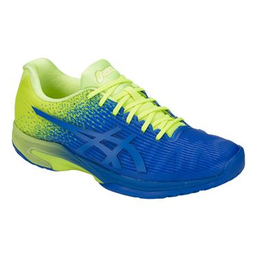 Asics Solution Speed FF Limited Edition Mens Tennis Shoe - Imperial Blue/Flash Yellow