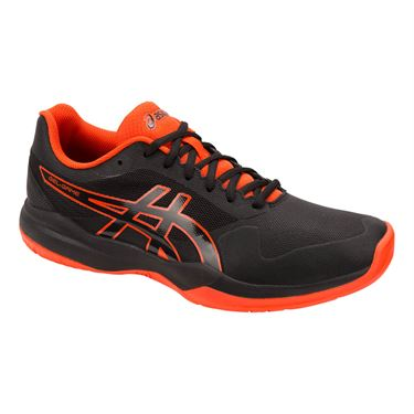 Asics Gel Game 7 Mens Tennis Shoe - Black/Cherry Tomato