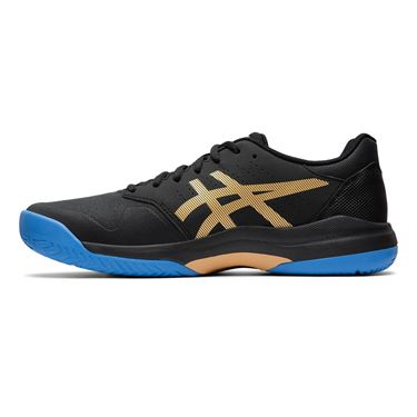 Asics Gel Game 7 Mens Tennis Shoe Black/Champagne 1041A042 012