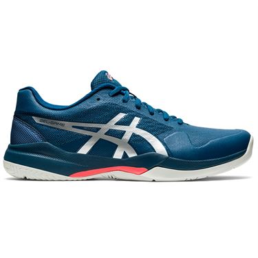 Asics Gel Game 7 Mens Tennis Shoe Mako Blue/Pure Silver 1041A002 402