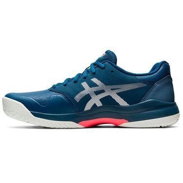 Asics Gel Game 7 Mens Tennis Shoe Mako Blue/Pure Silver 1041A002 402