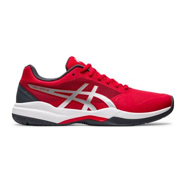 Asics Gel Game 7 Mens Tennis Shoe Red/Silver 1041A042 603