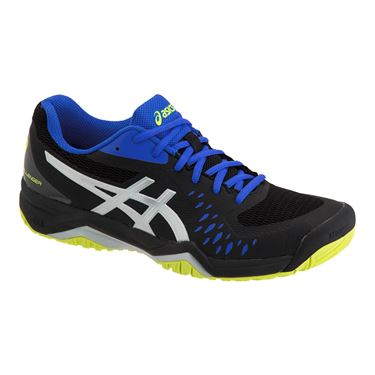 Asics Gel Challenger 12 Mens Tennis Shoe - Black/Silver