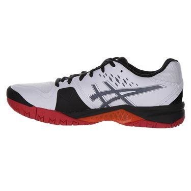Asics Gel Challenger 12 Mens Tennis Shoe - White/Black
