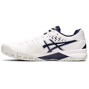 Asics Gel Challenger 12 Mens Tennis Shoe White/Peacoat 1041A045 116
