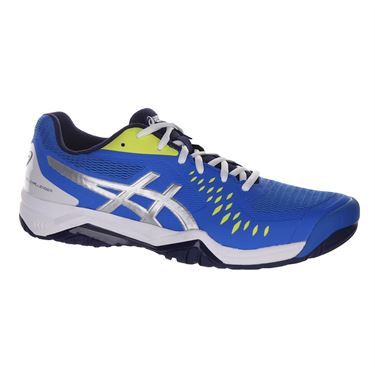Asics Gel Challenger 12 Mens Tennis Shoe - Electric Blue/Silver