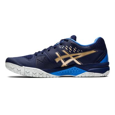 Asics Gel Challenger 12 Mens Tennis Shoe - Peacoat/Champagne | Midwest Sports