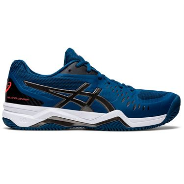 Asics Gel Challenger 12 Clay Mens Tennis Shoe Mako Blue/Gunmetal 1041A048 402