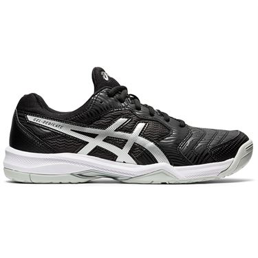 Asics Gel Dedicate 6 Mens Tennis Shoe Black/White 1041A074 002