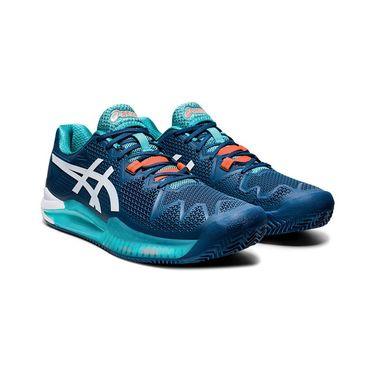 Asics Gel Resolution 8 Clay Mens Tennis Shoe