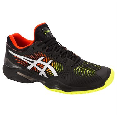 Asics Court FF 2 Mens Tennis Shoe -  Black/White