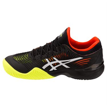 Asics Court FF 2 Mens Tennis Shoe -  Black/White