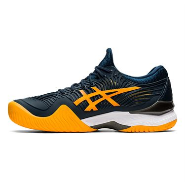 Asics Court FF 2 Mens Tennis Shoe French Blue/Amber 1041A083 402