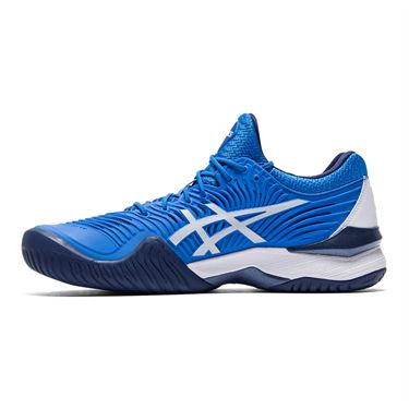 Asics Court FF Novak Mens Tennis Shoe Electric Blue/White 1041A089 400