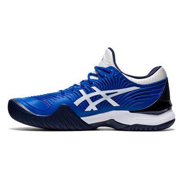 Asics Court FF Novak Mens Tennis Shoes Tuna Blue/White 1041A089 402
