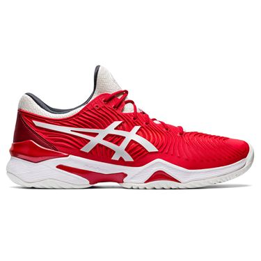 Asics Court FF Novak Mens Tennis Shoe Classic Red/White 1041A089 603