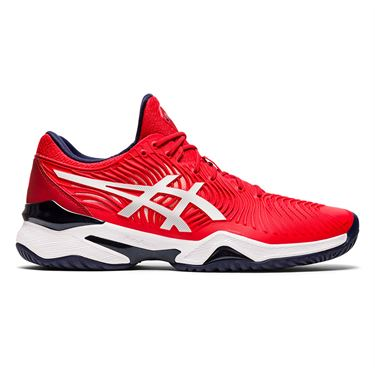 Asics Court FF Novak Classic Mens Tennis Shoe Red/White 1041A089 604