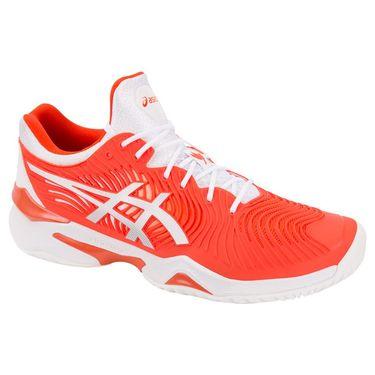 Asics Court FF 2 Novak Mens Tennis Shoe - Cherry Tomato/White