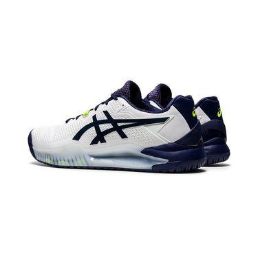 Asics Resolution 8 Wide (2E) Mens Tennis Shoe