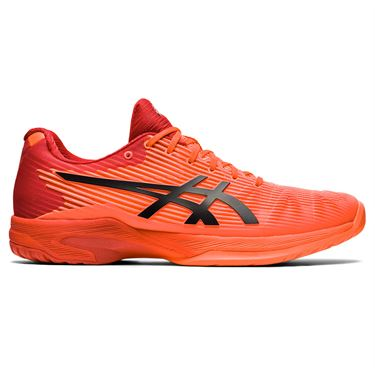 Asics Solution Speed FF Mens Tennis Shoe Tokyo Sunrise Red/Eclipse Black 1041A150 701