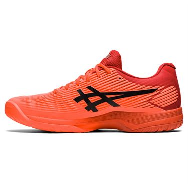 Asics Solution Speed FF Mens Tennis Shoe Tokyo Sunrise Red/Eclipse Black 1041A150 701