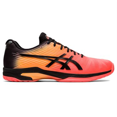 Asics Solution Speed FF LE Modern Tokyo Mens Tennis Shoe Coral/Black 1041A152 700