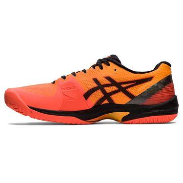 Asics Court Speed FF LE Modern Tokyo Mens Tennis Shoe Coral/Black 1041A155 700