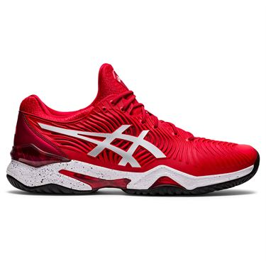 Asics Court FF 2 Novak LE Mens Tennis Shoe - Red/White