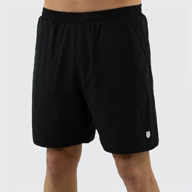 K Swiss Hypercourt Express 7 inch Short Mens Limo Black 104245 086
