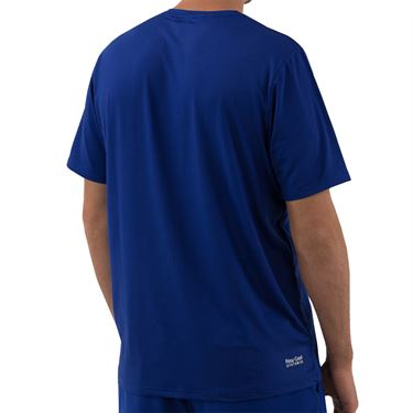 K Swiss Hypercourt Tee Shirt Mens Sodalite Blue 104249 428