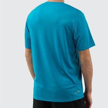 K Swiss Hypercourt Tee Shirt Mens Algiers Blue 104249 483