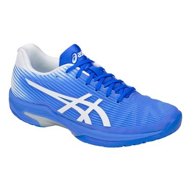 Asics Solution Speed FF Womens Tennis Shoe - Blue Coast/White