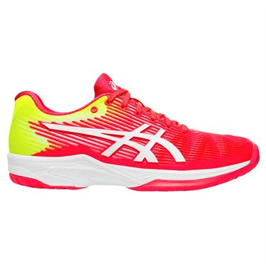 Asics Solution Speed FF Womens Tennis Shoe - Laser Pink/White