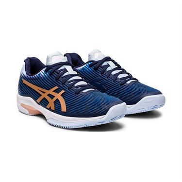 Asics Solution Speed FF Clay Womens Tennis Shoe