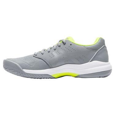 Asics Gel Game 7 Womens Tennis Shoe - Stone Grey/Safety Yellow