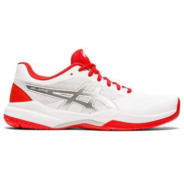 7 Womens Tennis Shoe - White/Fiery Red