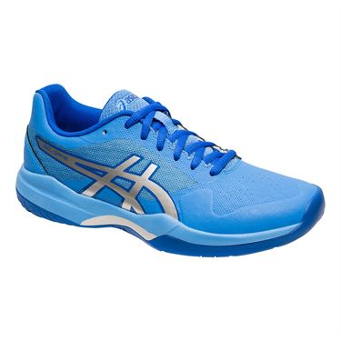 Asics Gel Game 7 Womens Tennis Shoe - Blue Coast/Silver