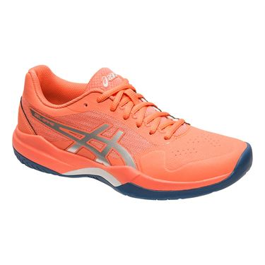 Asics Gel Game 7 Womens Tennis Shoe - Papaya/Silver