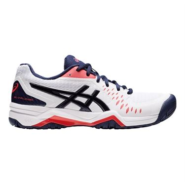 Asics Gel Challenger 12 Womens Tennis Shoe White/Peacoat 1042A041 106