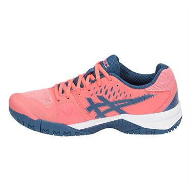 Asics Gel Challenger 12 Womens Tennis Shoe - Papaya/Grand Shark