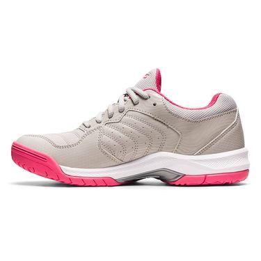 Asics Gel Dedicate 6 Womens Tennis Shoe Oyster Grey/Pink Cameo 1042A067 021