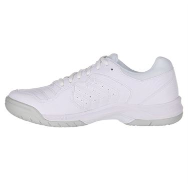 Asics Gel Dedicate 6 Womens Tennis Shoe White/Silver 1042A067 101