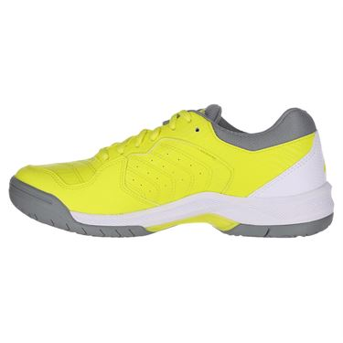 Asics Gel Dedicate 6 Womens Tennis Shoe - Sour Yuzu/White