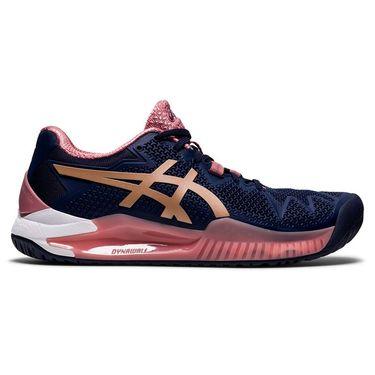 Asics Gel Resolution 8 Womens Tennis Shoe - Peacoat | Tennis-Point